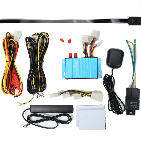 gps tracker support fuel sensor