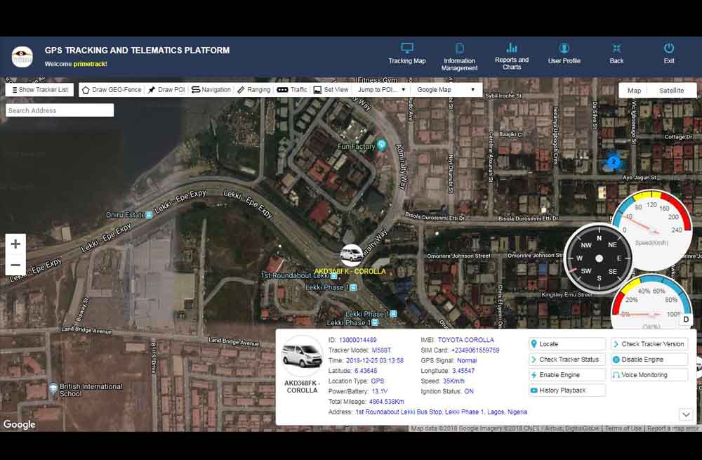 gps tracking and telematics platform