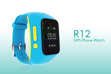 kid gps watch tracker r12