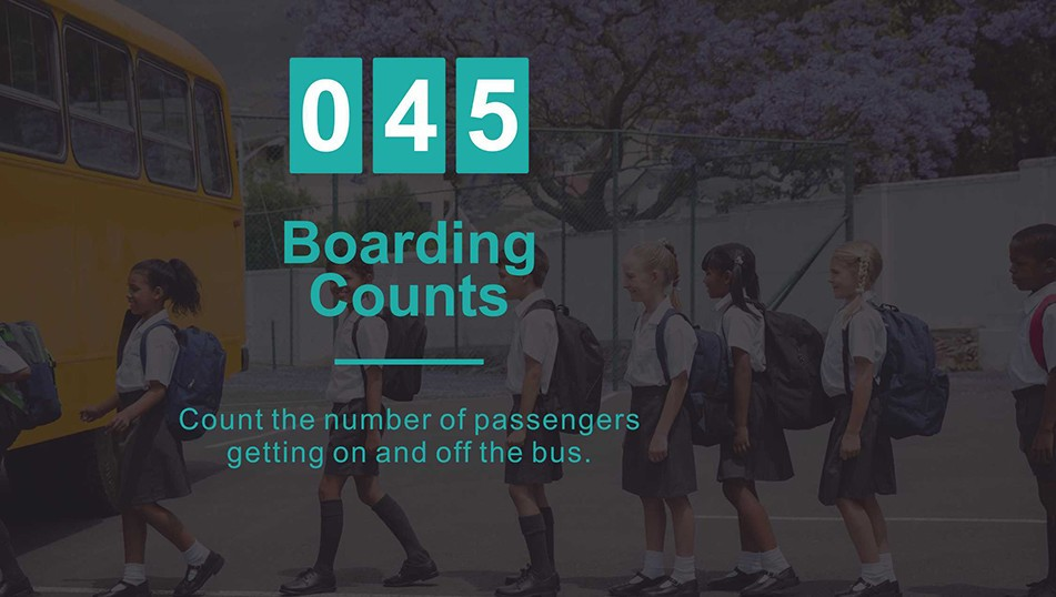 boarding counts