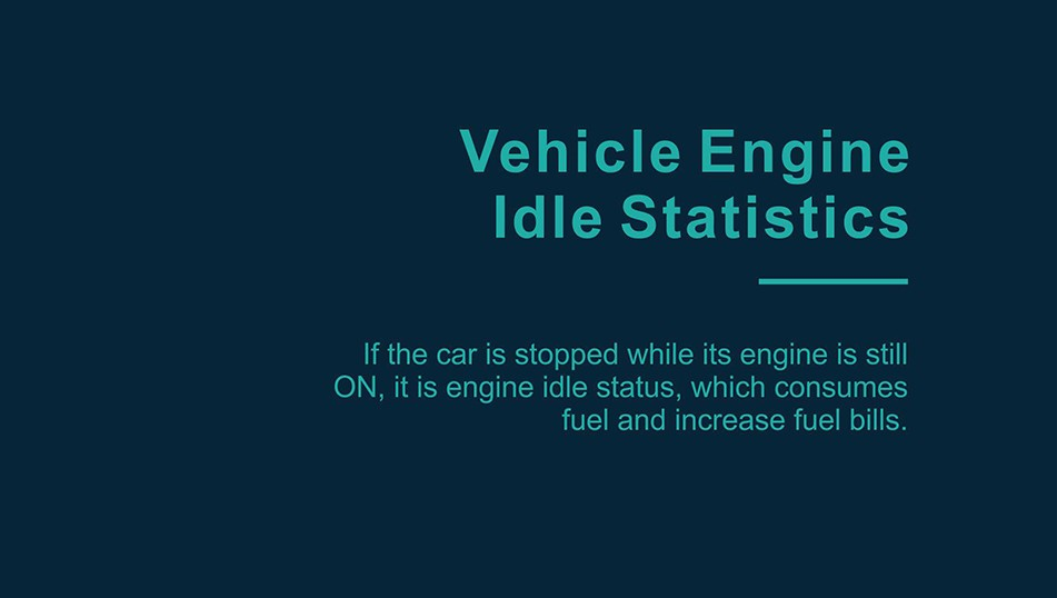 vehicle engine idle monitoring