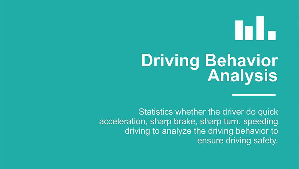 driving behavior analysis