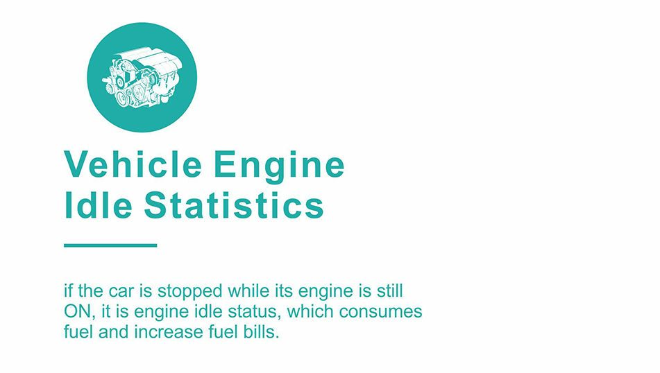 vehicle engine idle statistic