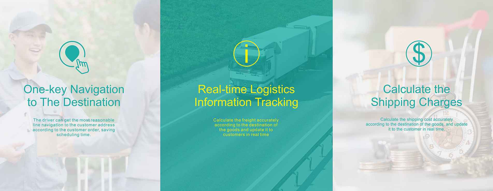 real time logistics information tracking